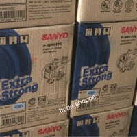 Pompa Air Listrik Sanyo P-WH137C Extra Strong Gantung Non Otomatis New