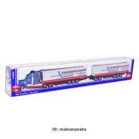 Mainan Miniatur/Pajangan Diecast Kereta Api SIKU ROAD TRAIN