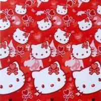 Jual Selimut Hello kitty Red (160x200)Cm Internal dan lady rose Collection Murah