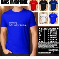 KAOS BAJU PAKAIAN TSHIRT HANDPHONE/GADGET Samsung Galaxy Alpha Font