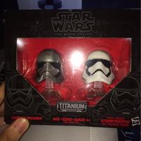 Jual Star Wars Black Series Titanium Cp. Phasma & Trooper Murah