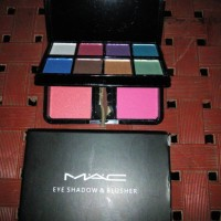 reflon eye shadow dan blus on 35 gr