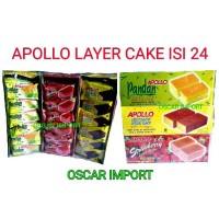 APOLLO CAKE PANDAN ISI 24'S