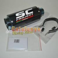 Knalpot Racing CBR150 / Cb150r Sc Project Carbon Series