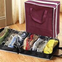 Shoes Tote Bag Tempat Sepatu Travel Storage Organizer