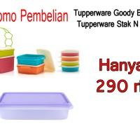 Tupperware Goodie Box + Tupperware Stak N Stor