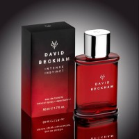 PARFUM DAVID BECKHAM BECKAM INTENSE INSTINCT MERAH PRIA MEN EDT IMPORT