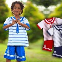Setelan Kaos Dan Celana Pendek Anak Laki Laki