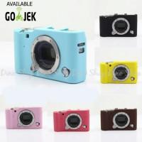 Fujifilm Mirrorless X-A3/XA3 Silicone Case / Sarung Silicon Kamera