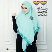 Khimar Inayah Wolvis