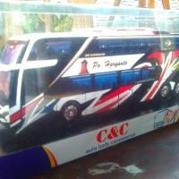 MINIATUR BUS PO HARYANTO DOUBLE DECKER C&C