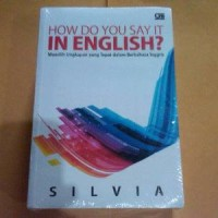 How Do You Say It in English - Silvia