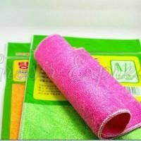 *NEW ARRIVAL*Kain Lap Sabut Cuci Piring Serat Bambu/Bamboo Fiber Cloth
