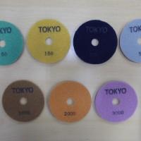 "Tokyo Diamond Pad 4"" / Poles Marmer Granit"