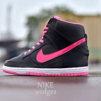 Sepatu Nike Air Murah Wedges Hitam List Pink Size 37-40