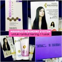 [ box ungu ] Dry / Damage Hair Makarizo Rebonding System Promo