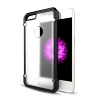 Clear TPU Armor Bumper Hybrid Case Premium for iPhone 5 5S SE