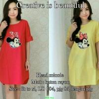 Head minnie/blouse gambar animasi/fashion wanita/murah/sale/polos/SG