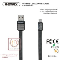 Jual USB Type C Cable Data & Kabel Power Charger Remax Platinum Series Murah