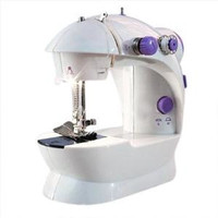 Mesin Jahit Portable Mini/Portable Sewing Machine Fhsm 202 versi lampu