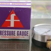 "Forbes Pressure Gauge 4"" ; drat 1/2"" ; 16 kg Australia"