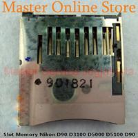 TERBATAS Slot Memory Card Nikon D7000 D5100 D5000 D3100 D90 Rusak, Rep