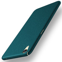 Casing HP cover OPPO F1 Plus/R9 Sand Scrub Ultra Thin Hard Case Green