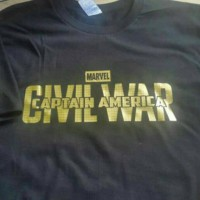 Tshirt/Baju/Kaos PRIA DAN WANITA MARVEL CAPTAIN AMERIKA Keren Terlaris