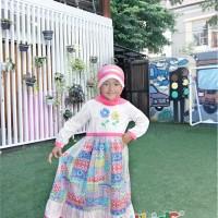 Baju Muslim Anak T-117 Pink Size 6 Rp 176.000