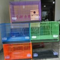 Jual Kandang Besi Lipat Kotak Untuk kucing, anjing ayam lovebird Murah