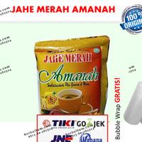 Jahe Merah Amanah Super (+ Habbatussauda, ginseng dan madu)