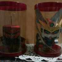 Gundam Sinanju And Unicorn Cubeecraft
