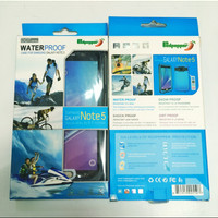 Samsung Note 5 Redpepper Lifeproof Case Anti Tahan Air Waterproof