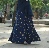 Gamis Cantik - Gamis Bahan Wolfis Umbrella