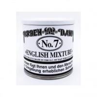 Tembakau Cangklong Torben Dansk No.7 English Mixture - Tin Of 50gr