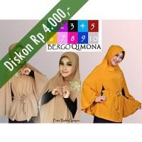 Jual Hijab/Jilbab Bergo Qimona/Kimono Premium Murah