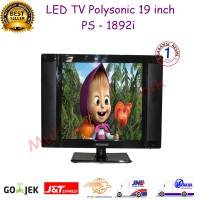 Led Tv 19 Inch Polysonic PS-1892i - Hitam