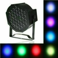 LAMPU dekorasi pelaminan, lampu SOROT DISCO PAR LED 36 stage lighting