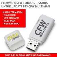 CFW With Cobra Terbaru + Flashdisk Untuk Update PS3 CFW