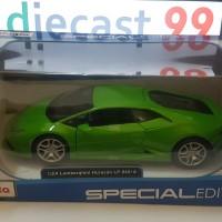 Maisto 1/24 Lamborghini Huracan LP 610-4 (Hijau)