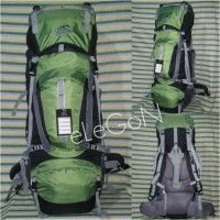 Tas Gunung Carrier Sioux 80 Liter Army Not Lafuma, Kalibre, Deuter