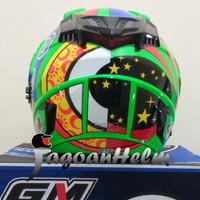 Helm Original/Murah/Baru GM Helm Startech Rossi Special Edition (SE)