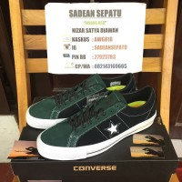 Jual Converse Cons One Star Pro Suede Ox Deep Emerald Black Original New Murah