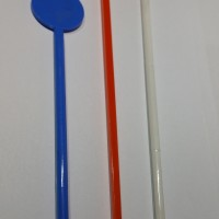Pengaduk Minuman / Stirer Bulat 14 cm, 18 cm, 21 cm