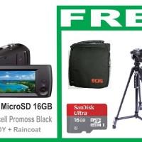 FullHD HANDYCAM MicroSD SONY HDR-CX405B + 16GB + Tas EOS + Tripod PRO