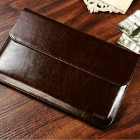 Leather Case Kulit Asli for Macbook / Ultrabook / Tas Laptop / Icarer