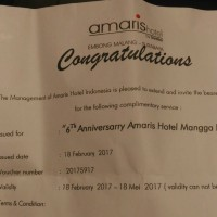VOUCHER AMARIS HOTEL EMBONG MALANG