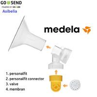 Spare Part Medela 4 part ( Valve , Membran , Connector, Corong )