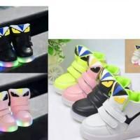 Sepatu anak import LED fendi monster size 21-25 26-30