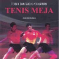 Teknik Dan Taktik Permainan Tenis Meja, Alex Kertamanah